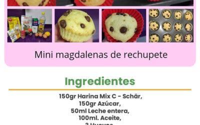 Mini magdalenas de rechupete
