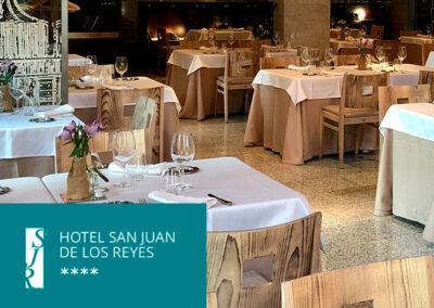 Restaurante La Fábrica de harinas (Hotel San Juan de los Reyes)